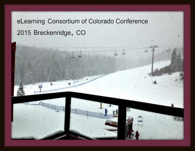 Snowing in Breckenridge